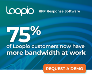 75% of Loopio customers now have more bandwidth at work